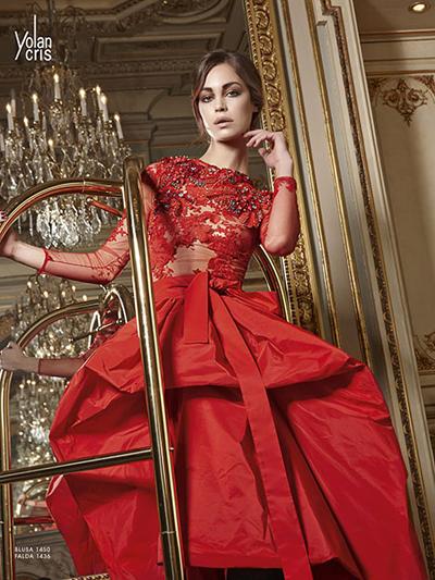 Vestido,fiesta,rojo,alta,costura,en,barcelona,yolan,