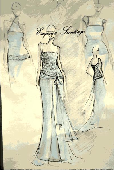 vestidos de novia y fiesta de alta costura | eugenia santiago