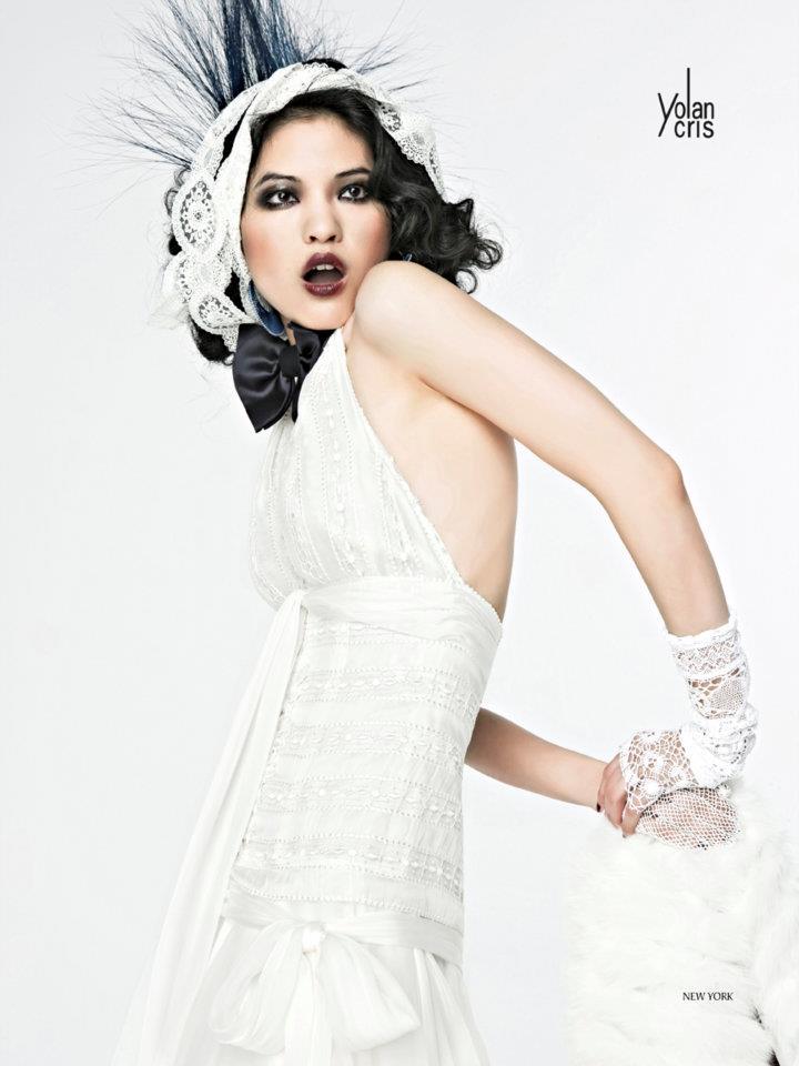 b12be5629 ... Vestido de novia yolancris Newyork